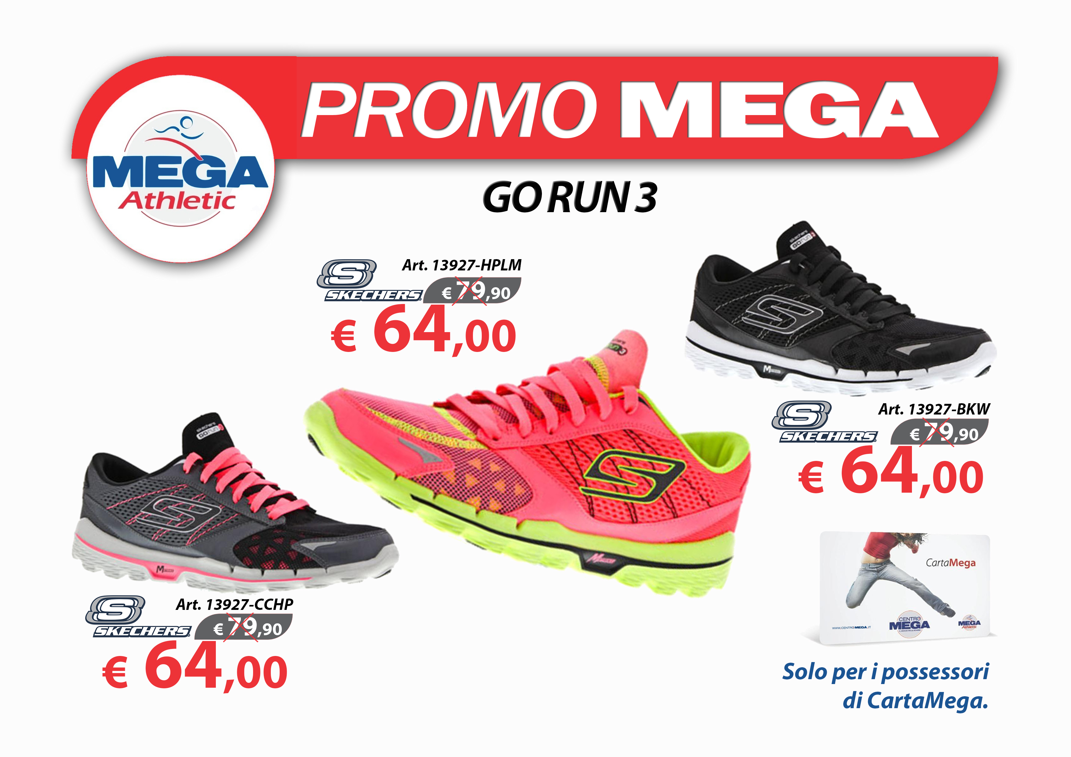 Offerte Carta Mega GO RUN 3  WOM