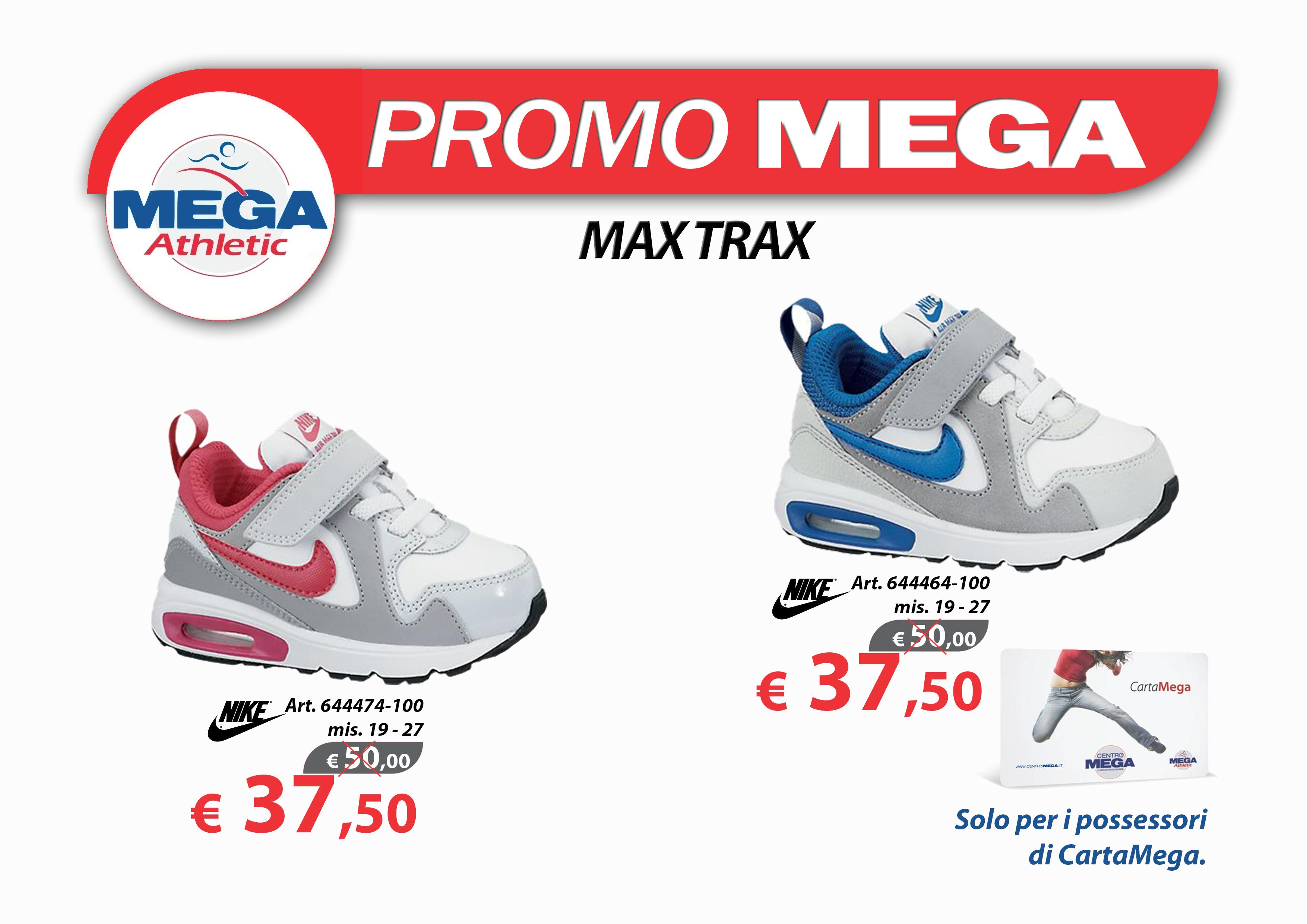 Offerte Carta Mega MAX TRAX INF